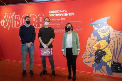 Cuarenta años de la revista El Víbora, recopilados en una exposición en el Centro de Historias