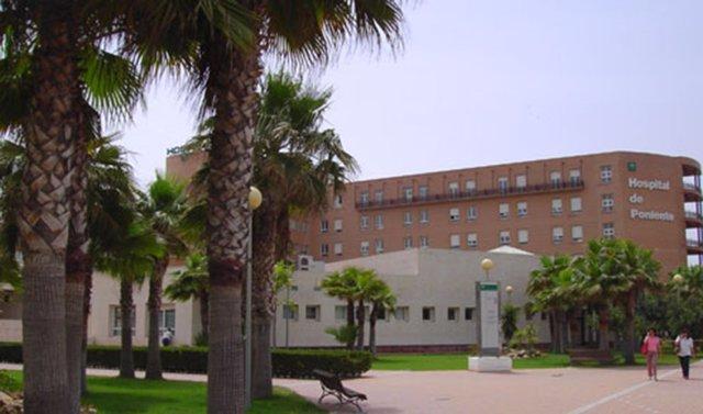 Hospital de Poniente de Almería.