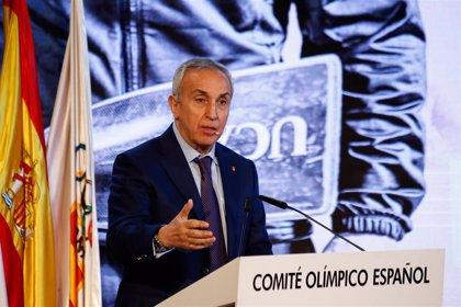 Alejandro Blanco anima a los olímpicos españoles a que sigan preparando los Juegos de Tokyo