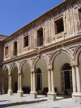 Claustro del Archivo Histórico Provincial de Jaén