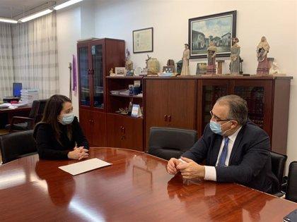 Los alcaldes de Pamplona y Barañáin se reúnen para tratar la situación de la antigua harinera de Ilundáin