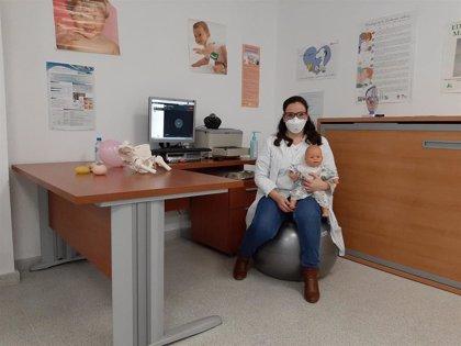 La Unidad de Gestión Clínica de Pozoblanco (Córdoba) inicia la formación en Educación Maternal en formato 'on line'