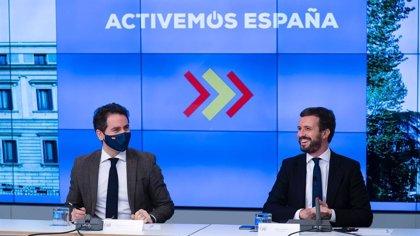 """'Génova' subraya el """"compromiso con la ejemplaridad"""" de Casado tras dimitir el consejero de Sanidad de Ceuta vacunado"""