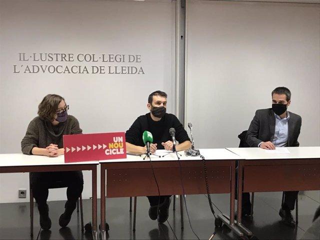 Eulàlia Reguant, Pau Juvillà i Carles López