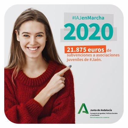 El IAJ destinó en 2020 cerca de 22.000 euros a asociaciones juveniles de la provincia de Jaén