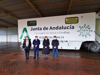 Salud realiza cribados de covid-19 en los municipios jiennenses de Begíjar, Rus, Torreblascopedro y Chiclana de Segura