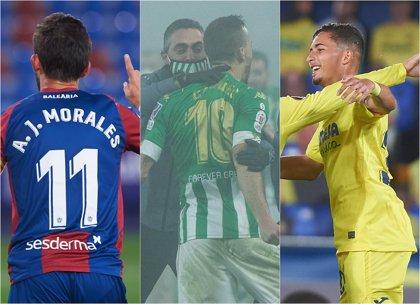 Levante, Betis y Villarreal, en cuartos de Copa