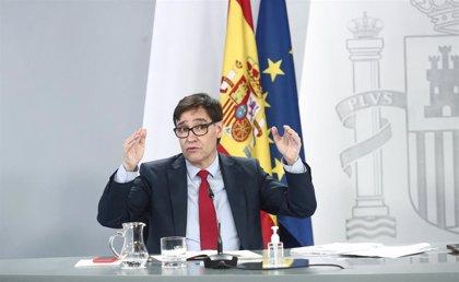 Los ministros del PSOE agradecen a Illa su labor al frente de Sanidad y le trasladan su apoyo ante el 14F