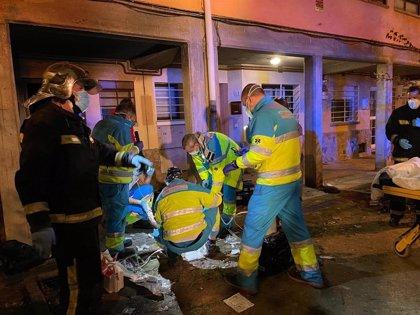 Herida muy grave una mujer de 56 años en el incendio de su vivienda en El Caserío (Getafe)