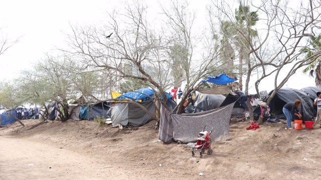 Asentamientos en la frontera entre México y Estados Unidos.