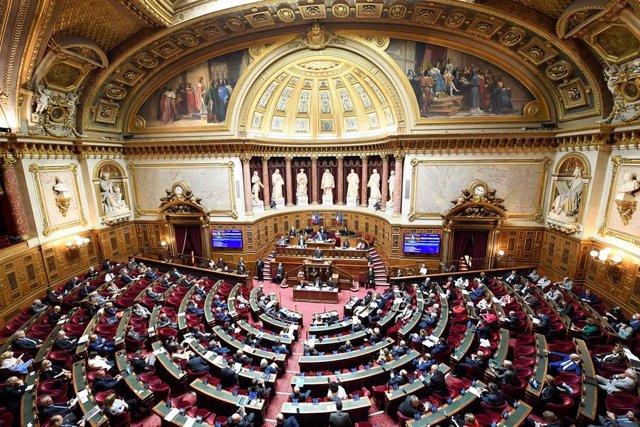 Vista general del Senado de Francia