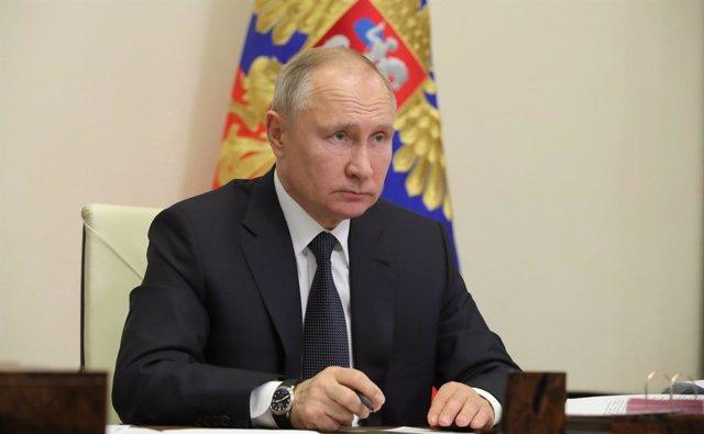 El president rus, Vladímir Putin.