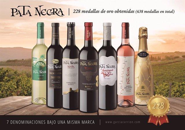 Premios de vinos Pata Negra (García Carrión)