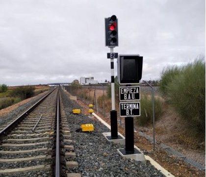 Adif adjudica por 85 millones la señalización y telecomunicaciones del tramo Badajoz-Plasencia de Alta Velocidad
