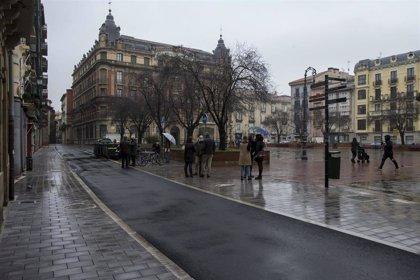 Finalizan las obras de reurbanización y repavimentación de las calles Ansoleaga y San Francisco de Pamplona