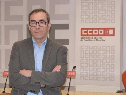 """De la Rosa se presentará para renovar su mandato en CCOO C-LM aunque rechaza ser """"continuista"""""""