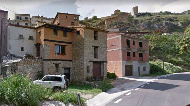 Imagen de Castielfabib, en la comarca valenciana de Rincón de Ademuz