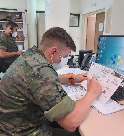 Los rastreadores militares localizan más de 13.000 contactos estrechos en Canarias en los últimos cuatro meses