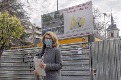 """Cs lamenta que la remodelación del Parque Gallarza se haga """"contra la opinión de los vecinos"""" del entorno"""