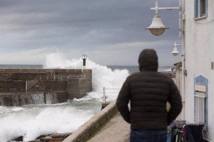 La borrasca 'Justine' traerá fuertes rachas de viento e intensas lluvias en Galicia, ya en alerta amarilla por temporal