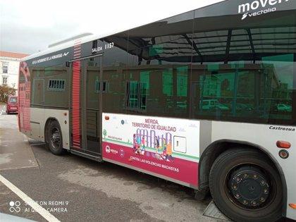 Los espacios públicos de Mérida lucirán mensajes que promueven la igualdad de género y el fin de la violencias machista