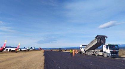 Aeropuerto de Castellón inicia la construcción de la nueva plataforma industrial y de prolongación de la calle de rodaje