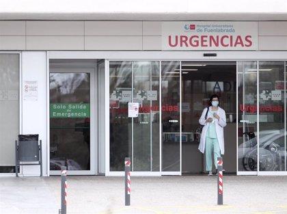 Los hospitales de la zona Sur rebasan ya el millar de ingresos Covid, con 141 pacientes en UCI