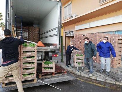 Agricultura compra más de 300 toneladas de alimentos a productores locales para destinarlas a 13 entidades sociales