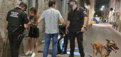 La Policía Local de Santa Cruz instruye más de cien actas por incumplimiento de las normas contra la covid-19
