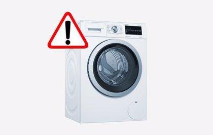 COMUNICADO: Aviso de seguridad en determinadas lavadoras de Bosch, Siemens, Neff y Balay fabricadas en 2019