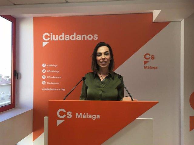 Teresa Pardo, parlamentaria andaluza de Ciudadanos por Málaga