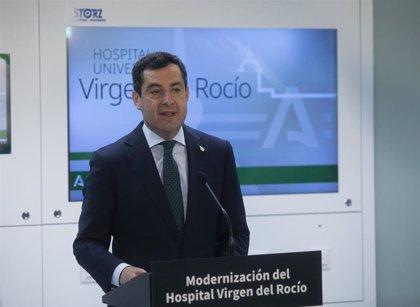 """Moreno pide a Sánchez que presione para mayor suministro de vacunas: """"A este ritmo no llegamos al 15% en verano"""""""