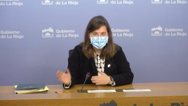 La portavoz del Gobierno de La Rioja, Sara Alba.