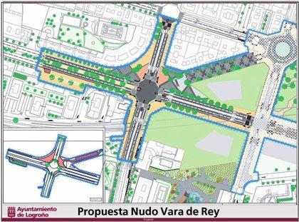 El Ayuntamiento licitará por 4,55 millones el nuevo cruce semafórico de Vara de Rey, que prevé comenzar este año