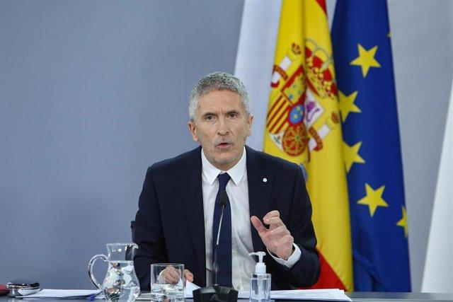 Ministro del Interior, Fernando Grande Marlaska