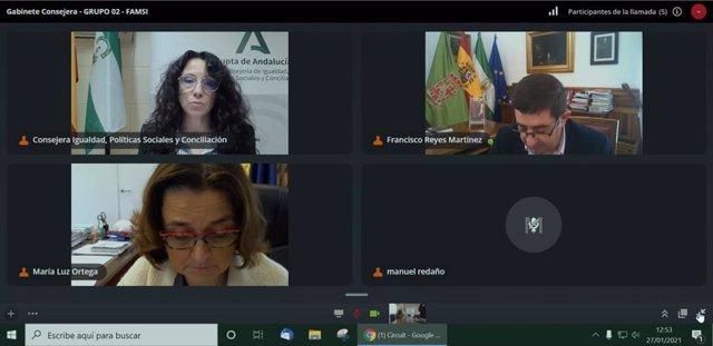 La Junta aborda con la Famsi su participación en el Consejo Andaluz de Cooperación.