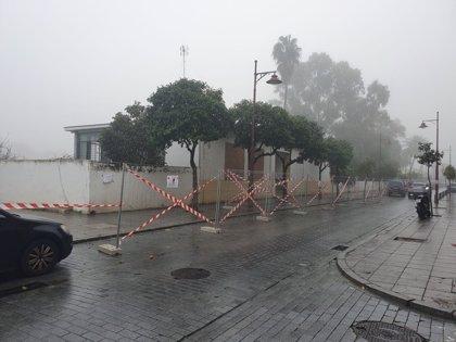 """La Junta inicia la demolición de la antigua Comisaría de la calle Betis """"para dar continuidad"""" al paseo fluvial"""