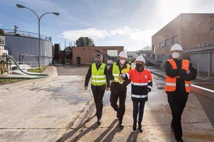 Ecociudad inicia la rehabilitación del digestor de la depuradora de La Almozara averiada por acumulación de toallitas