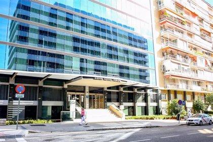 El hotel medicalizado del Hospital Gregorio Marañón tiene ya 70 pacientes hospitalizados