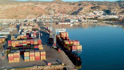 El puerto de Almería mueve 417.000 toneladas de mercancía en contenedor en 2020, un 8,2% más