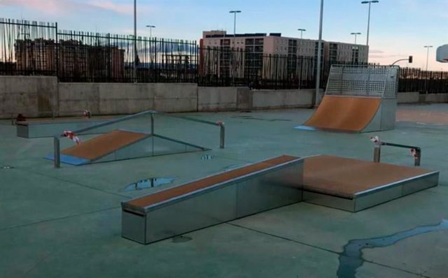 Pista de skate en Arcosur