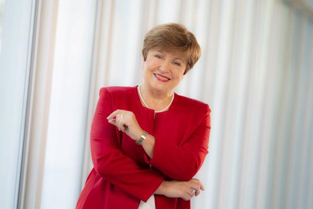 Kristalina Georgieva, directora gerente del FMI