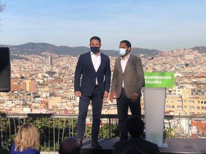 Campaña de Vox en Cataluña: despliegue de líderes entre Internet y actos a pie de calle
