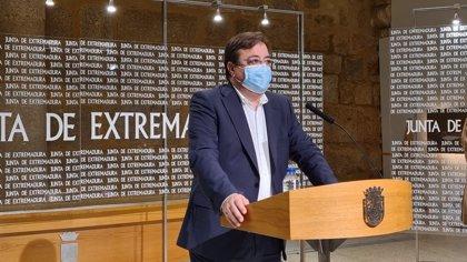 """Vara subraya que ningún alto cargo de la Junta de Extremadura se ha vacunado de la Covid ni lo hará """"hasta que le toque"""""""