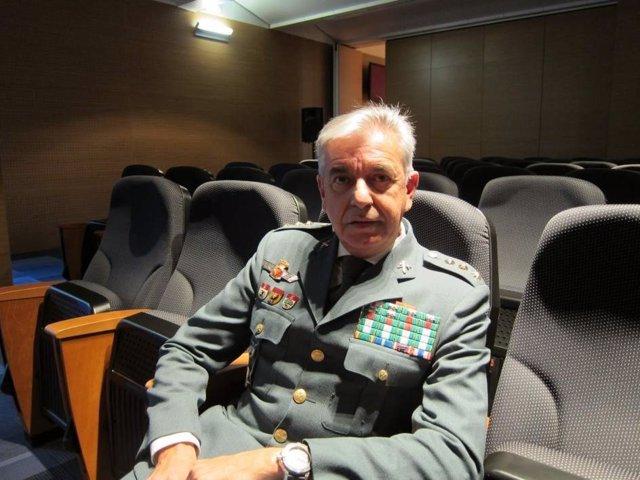 El coronel de la Guardia Civil Manuel Sánchez Corbí en una foto de 2017
