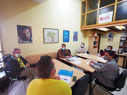 """Queipo (PP) confía en que el retraso en las obras de soterramiento de Langreo """"no esconda intereses electoralistas"""""""
