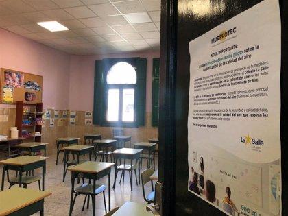 Las escuelas cerradas ascienden a nueve y los centros registran un nuevo máximo tras llegar a los 3.400 casos