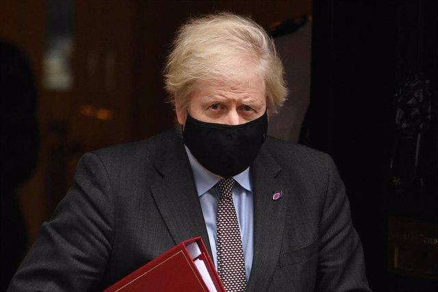 Boris Johnson, primer ministro de Reino Unido