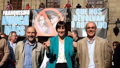 El juicio contra los activistas denunciados por los Franco por una protesta en la Casa Cornide será el 4 de febrero
