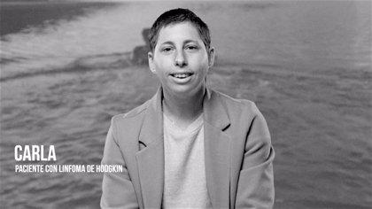 La tenista Carla Suárez participa en la última campaña de concienciación de los hematólogos sobre el cáncer de la sangre